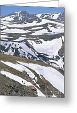 Beartooth  Wilderness Greeting Card