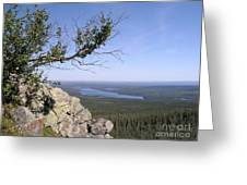 Beautiful Mountain Landscape  Greeting Card