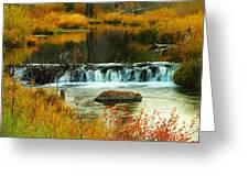 Beautiful Water Greeting Card