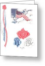 Beauty Of Freedom Greeting Card