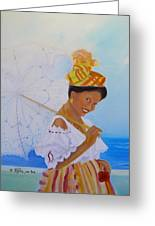 Belle Creole Greeting Card