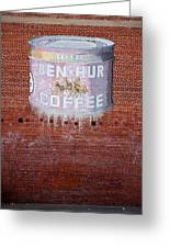 Ben Hur Coffee Greeting Card