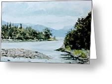 Berks Lake Greeting Card