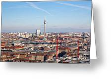Berlin Cityscape Greeting Card