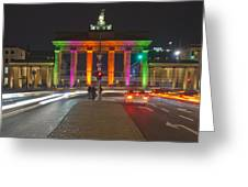 Berlin Lights Greeting Card