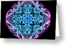 Beta Brainwave Greeting Card