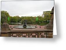 Bethesda Fountain Nyc Greeting Card