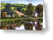Bickleigh - Devon Greeting Card