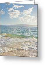 Big Beach Greeting Card