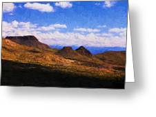 Big Bend National Park Greeting Card