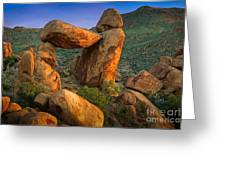 Big Bend Window Rock Greeting Card