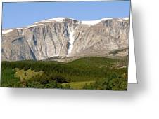 Big Horn Mountains  Greeting Card