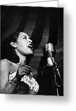 Billie Holiday (1915-1959) Greeting Card