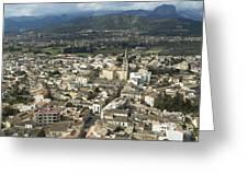 Binissalem, Mallorca Greeting Card