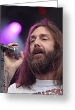 Black Crowes - Chris Robinson Greeting Card