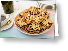 Blackberry Grated Pie Greeting Card