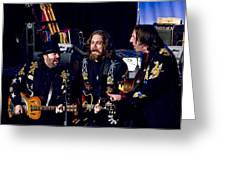 Blackie And The Rodeo Kings Greeting Card