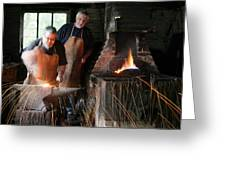 Blacksmith Greeting Card