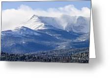 Blizzard Peak Greeting Card