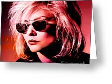 Blondie Debbie Harry Greeting Card