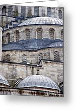 Blue Mosque 01 Greeting Card