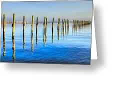 Blue Tide Greeting Card