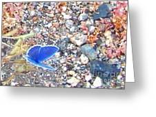 Blue Visions Greeting Card