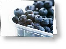 Blueberries Greeting Card