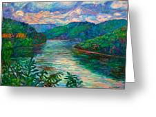 Bluestone Lake Greeting Card
