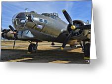 Boeing B-17g Flying Fortress Greeting Card