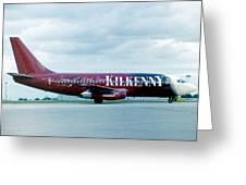 Boeing B737-200 Greeting Card