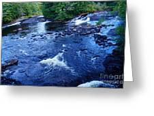 Bog River Falls Greeting Card