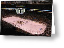 Boston Bruins Greeting Card by Juergen Roth