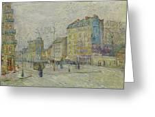 Boulevard De Clichy Greeting Card