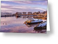 Bowling Harbour Panorama 02 Greeting Card