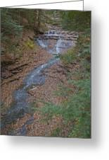Bridal Vail Falls - Cvnp Greeting Card