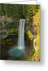 Brandywine Falls British Columbia Greeting Card
