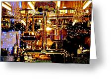 Brass Beer Greeting Card by Sharon Costa