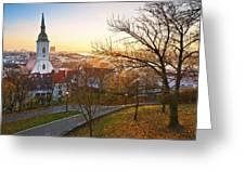 Bratislava. Greeting Card