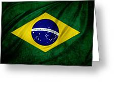 Brazilian Flag Greeting Card