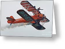 Breitling Wing Walkers Greeting Card