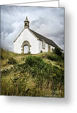 Breton Church Greeting Card