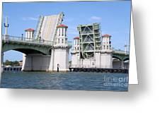 Bridge Of Lions St Augustine Florida Greeting Card