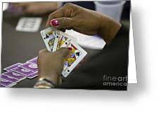 Bridge Tournament Greeting Card