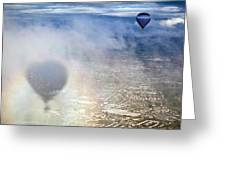 Bristol Balloon Fiesta Bristol Greeting Card