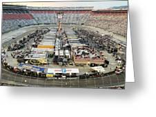 Bristol Motor Speedway Greeting Card