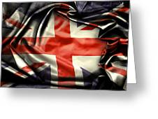 British Flag 10  Greeting Card