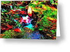 Brook Texture 13 Greeting Card