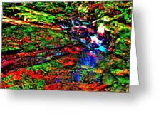Brook Texture 17 Greeting Card