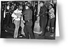 Brooklyn Riots, 1964 Greeting Card